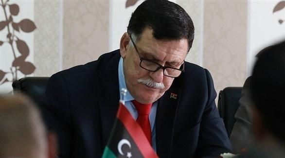 رئيس المجلس الرئاسي لحكومة الوفاق الوطني فائز السراج (أرشيف)