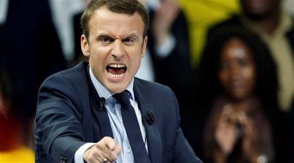 الرئيس الفرنسي ايمانويل ماكرون (أرشيف)