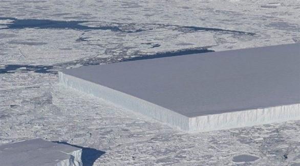 الجبل الجليدي كما بدا (ناسا)