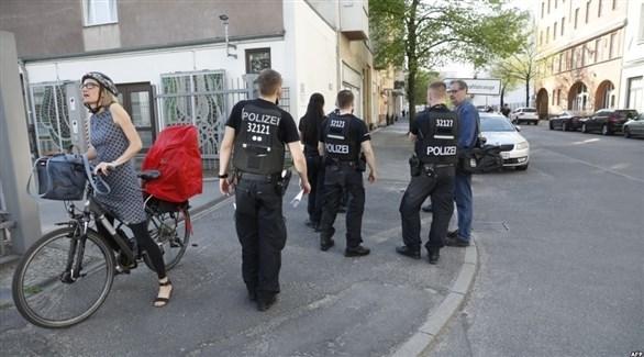 الشرطة الألمانية في عملية سابقة (أرشيف)