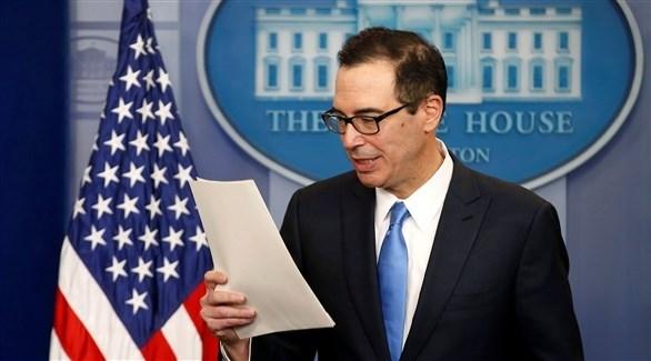 وزير الخزانة الأمريكية ستيف منوشين (أرشيف)