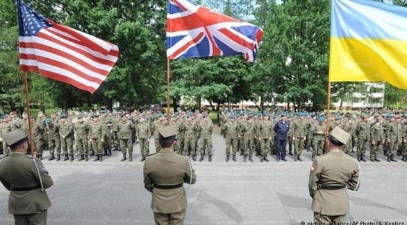 قوات مشتركة مشاركة في تدريبات الناتو (أرشيف)