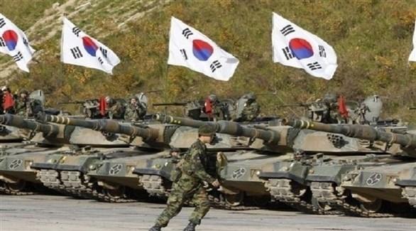 تدريبات عسكرية للجيش الكوري الجنوبي (أرشيف)
