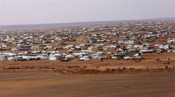مشهد عام لمخيم الركبان للاجئين (أرشيف)