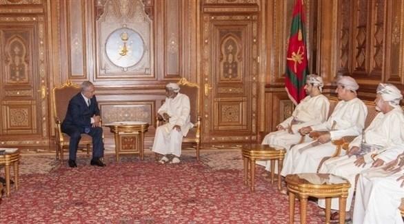 السلطان قابوس يستقبل نتانياهو (العمانية)