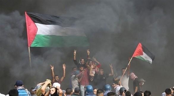 من احتجاجات مسيرة العودة في غزة (أرشيف)