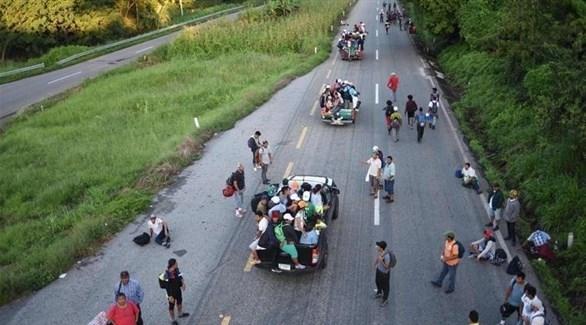 مهاجرون في المكسيك (أرشيف)
