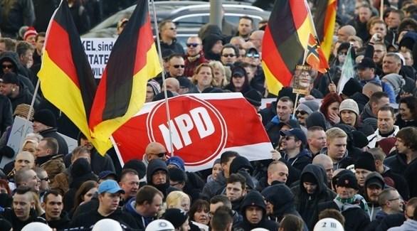 حركة مواطني الريخ المتطرفة في ألمانيا (أرشيف)