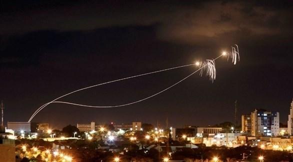 إطلاق صواريخ من غزة باتجاه إسرائيل (أرشيف)