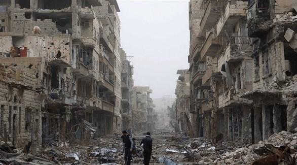 دمار كبير في سوريا جراء الحرب (أرشيف)
