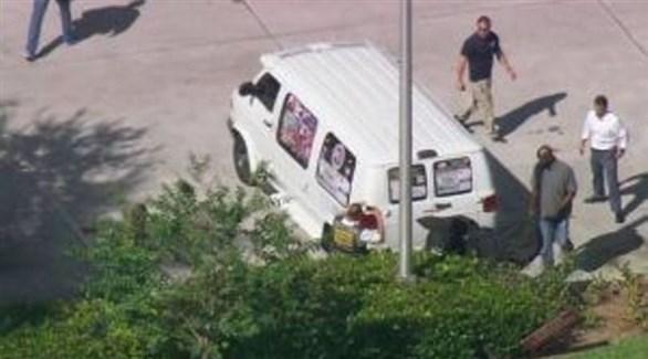 سيارة المتهم التي ضبطها مكتب التحقيقات الفيدرالي (أرشيف)