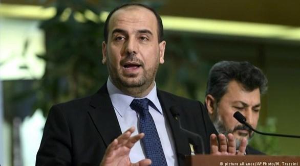 كبير مفاوضي المعارضة السورية نصر الحريري (أرشيف)