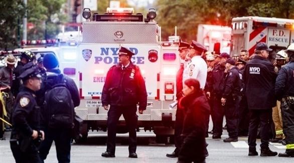 عناصر أمنية في نيويورك (إ ب أ)