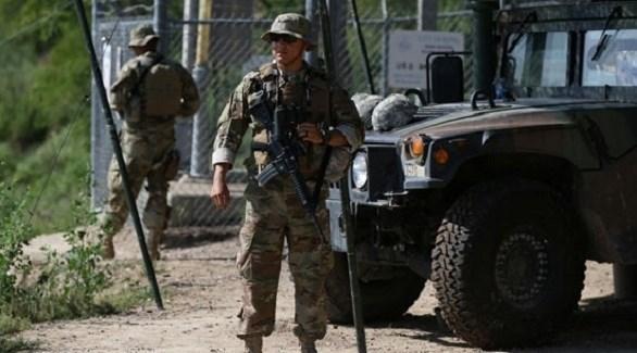 قوات أمريكية على حدود المكسيك (أرشيف)