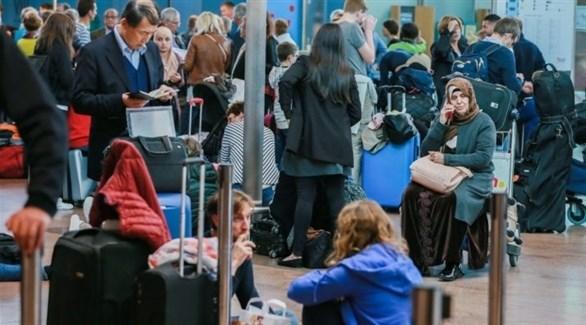 إلغاء الرحلات في مطار بروكسل (أرشيف)