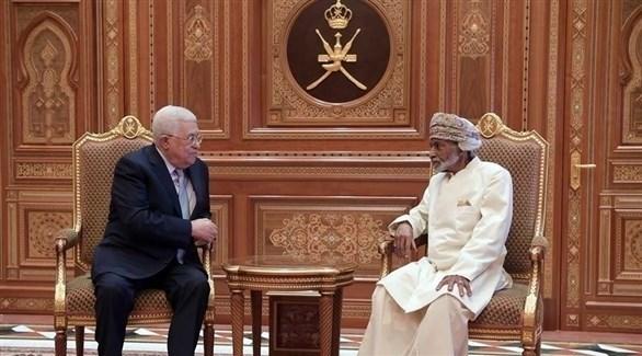 السلطان قابوس والرئيس الفلسطيني محمود عباس (أرشيف)
