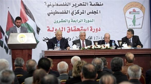 من دورات المجلس المركزي الفلسطيني السابقة (أرشيف)