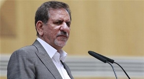 النائب الأول للرئيس الإيراني إسحاق جهانغيري (أرشيف)