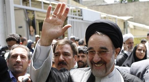 الرئيس الإيراني السابق، محمد خاتمي (أرشيف)