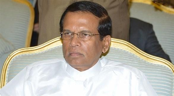 رئيس سريلانكا مايثريبالا سيريسينا (أرشيف)