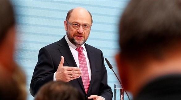 الرئيس السابق للحزب الاشتراكي الديمقراطي الألماني مارتن شولتس (أرشيف)