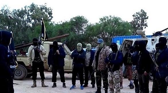 مسلحون من داعش في سرت الليبية (أرشيف)