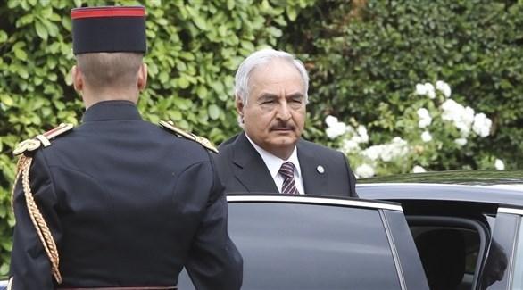القائد العام للجيش الوطني الليبي، المشير خليفة حفتر (أرشيف)