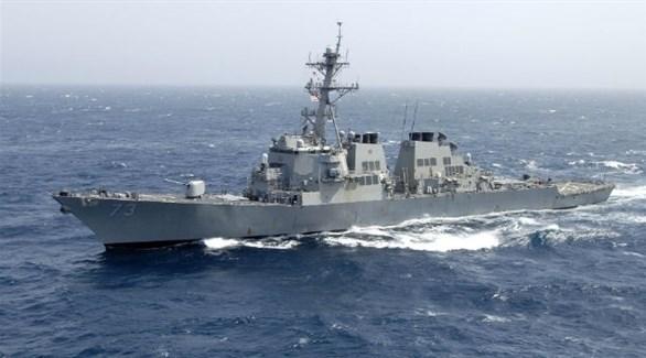 المدمرة الأمريكية ديكاتور في بحر الصين الجنوبي (أرشيف)