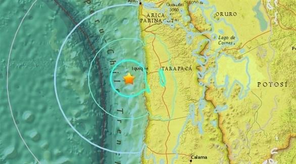 موقع زلزال سابق في  تشيلي (أرشيف)