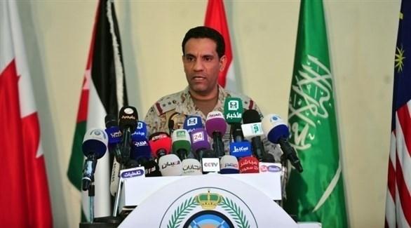 المتحدث الرسمي باسم قوات التحالف العربي العقيد الركن تركي المالكي (أرشيف)