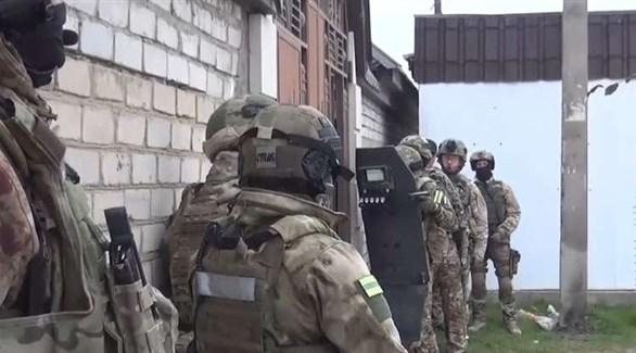 عناصر من الأمن الروسي في مداهمة سابقة (أرشيف)