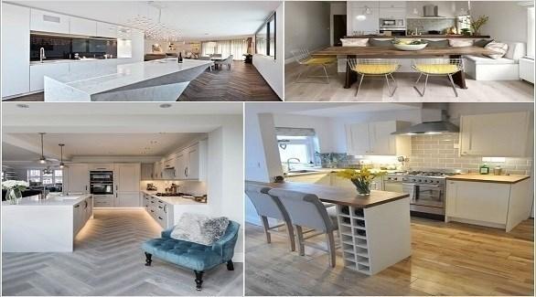 أفكار لتصميم المطبخ بطريقة عصرية (أميزنغ إنتيرير ديزاين)