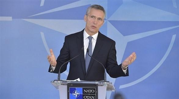 الأمين العام لحلف شمال الأطلسي (الناتو)، ينس ستولتنبرغ (أرشيف)