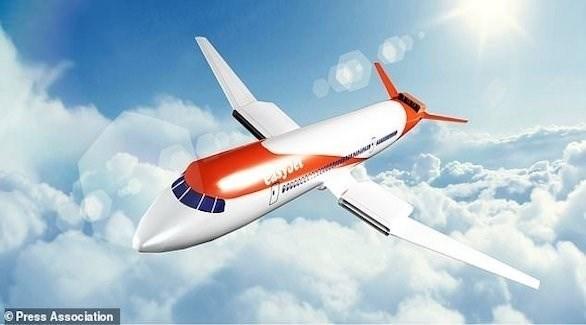 نموذج للطائرة الكهربائية المزمع تطويرها خلال سنوات (ديلي ميل)