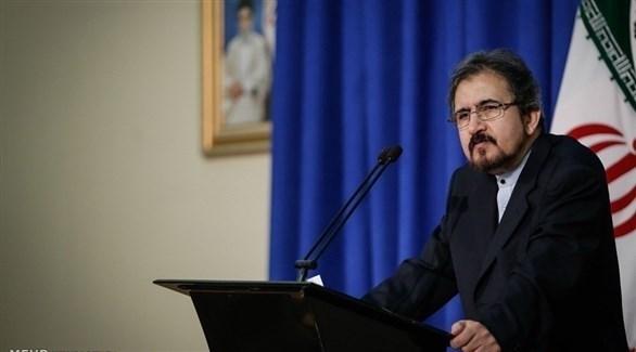 المتحدث باسم وزارة الخارجية الإيرانية بهرام قاسمي (أرشيف)