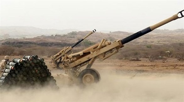 مدفع ثقيل تابع للجيش اليمني (أرشيف)