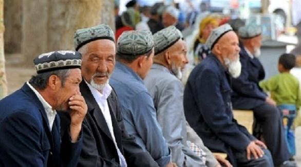 مسلمون من أقلية الويغور الصينية (أرشيف)