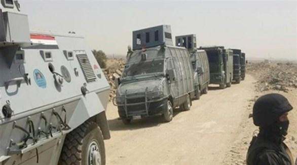 مدرعات للشرطة المصرية في سيناء (أرشيف)