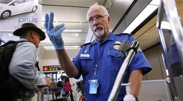 رجل أمن داخل أحد المطارات النيوزيلندية (أرشيف)