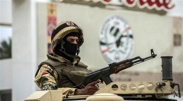 جندي مصري في سيناء (أرشيف)