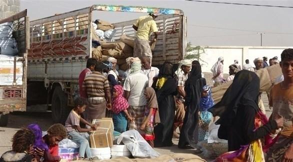 نازحون يمنيون من الحديدة (أرشيف)
