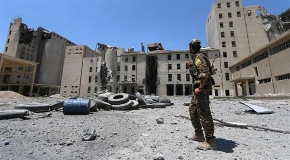 مُسلح كردي في منبج السورية (أرشيف)