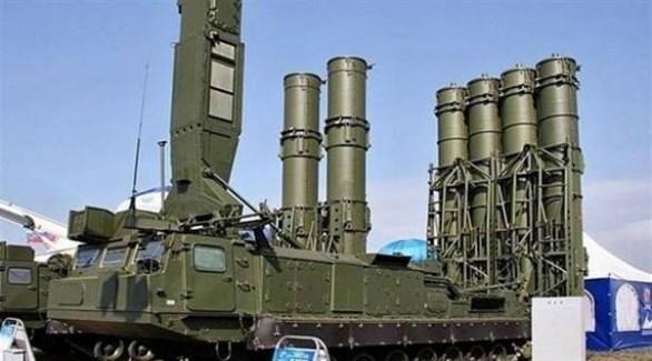 منظومة صواريخ الدفاع الجوية الروسية إس 300  (أرشيف)