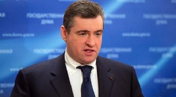 رئيس لجنة الشؤون الدولية بمجلس الدوما الروسي ليونيد سلوتسكي (أرشيف)