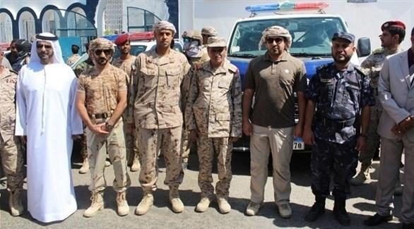 بدعم إماراتي .. محافظ حضرموت يدشن خطة الانتشار الأمني و استكمال تأهيل 7 مراكز للأمن (وام)