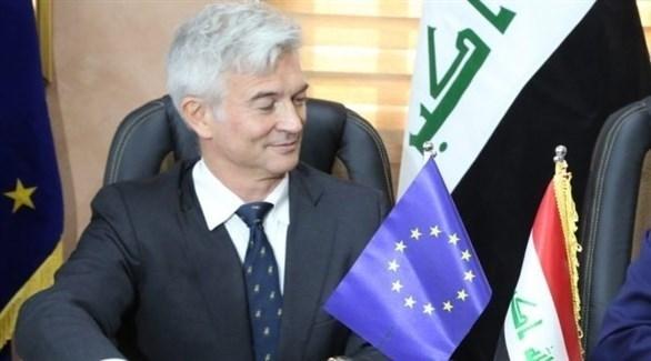 سفير الاتحاد الأوروبي في العراق رامون بليكوا (أرشيف)