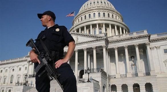 عنصر من شرطة الكونغرس الأمريكي (أرشيف)