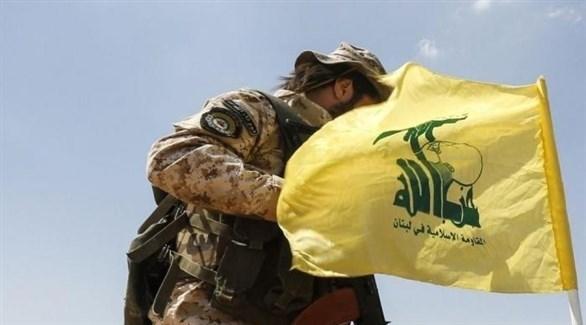 أحد مقاتلي مليشيا حزب الله اللبناني (أرشيف)