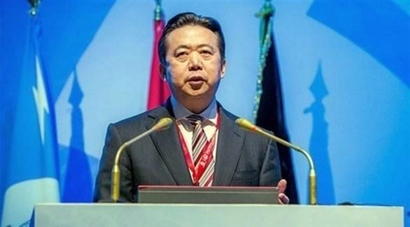 رئيس منظمة الشرطة الجنائية الدولية الإنتربول هونغوي مينغ (أرشيف)