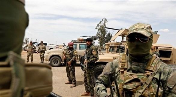عناصر منضوية في التحالف الدولي ضد داعش (أ ف ب)